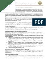 FICHA DE LOS MANDAMIENTOS DE DIOS 4° - WRW-2019