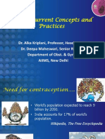 E COCs - Current Concepts and Practices