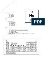 Intro to Basic Chemistry