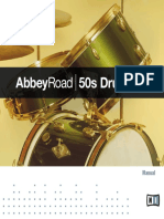 Abbey Road 50s Drummer Manual English