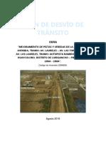 PLAN de DESVIO-Quinta Laureles