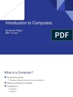 Introduction to Computers (BBA)