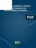 191031 Ri Estatuto Regimento Internto