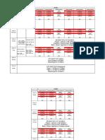 Panini Time Table 4 Nov 2019 9 Nov 2019