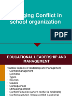 Practical Aspects of Management- Conflict Magt
