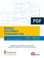 REPORTE ELECTRÓNICO TECNOLÓGICO FRUTAS Y HORTALIZAS INDECOPI PERU