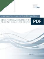 CEP Report StudentAchievement 053107