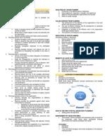 UNIT II - Management Planning