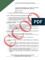 Test Ley 31/1995 de 8 de noviembre de Prevención de Riesgos Laborales