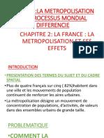 LA FRANCE METROPOLITAINE