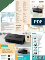 PIXMA TS Model Pamphlet 16Oct