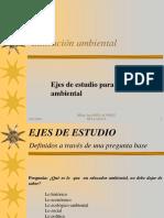 EJES DE LA EDUCACION AMBIENTAL.ppt