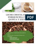 Informe Cacao Aditivos