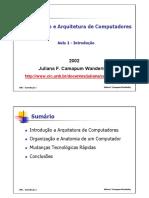 Arquitetura de Computadores Cap1.pdf