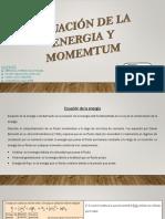 Ecuacion de La Energia y Momemtum