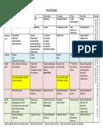Erickson Work Schedule -- Generic