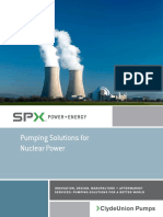 Nuclear industry application from SPX Flow Inc.