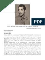 Historia Rigoberto Lopez Perez