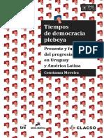 Moreira Costanza, Tiempos de Democracia Plebeya