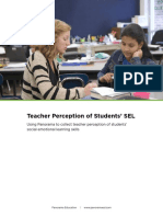 Panorama Teacher Perception of Students SEL Measures User Guide 1