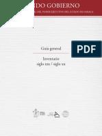 Guía general del archivo histórico de Oaxaca