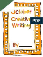 -16 Printable October Creative Writing Activities