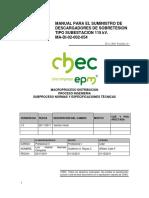ANEXO1 1445 2012-04-23 Descargadores Especificaciones