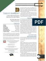 D&D 3.0 Level 10 Adventure - Tarus's Banquet (Libris Mortis WE).pdf
