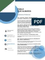Cv Pablo Ruiz Almarza