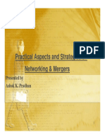 Mergers and Networking