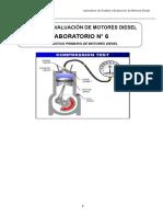 Guía de laboratorio N° 6  AyEMD  6  C2  2019-2  A-B Diagnostico de Motores Diesel