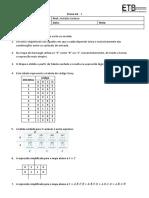 Prova A2 - Imprimir