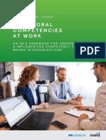 Behavioral Competencies at Work