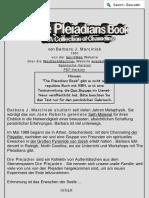 Das Plejadier-Buch - Eine Sammlung Von Channelings