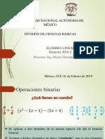 Algebra Lineal(UNAM)-Tema 01-Grupos y Campos