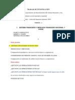 Trabajo de Investigación Finanzas