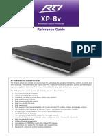 RTI XP 8v User Manual