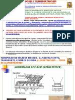 Diseño de Plantas 2019-i.- Unidad 04