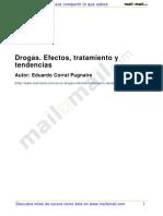DROGAS EFECTOS TRATAMIENTOS