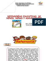 Presentacion Defensorias Educativas 2019
