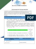 Ecuaciones Diferenciales Solución Ejercicios 1 y 2