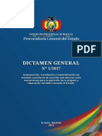 Dictamen General 1 2017 PGE 2019