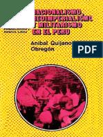 Quijano, Aníbal. Nacionalismo, neoimperialismo y militarismo en el Perú.pdf