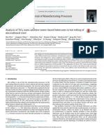 Analysis of TiO2 Nano Additive Water Based Lubrican 2017 Journal of Manufact