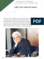 Jacques Derrida y Las Cartas de Amor - Ramón Mistral - Medium