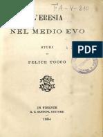Studio su Giordano Bruno