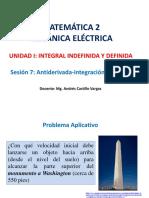 S7 Antiderivada- Integral Indefinida