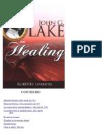 Sobre La Sanidad- John G. Lake