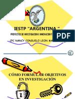 Como Formular Objetivos de Investigacion- 02-11-2019