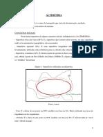 Altimetria Nivelamentos Perfil Curvas Teoria